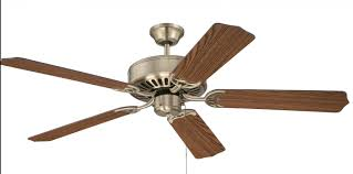 Craftmade Remote Control Craftmade Pro Builder Ceiling Fan Model C52ab In Antique Brass