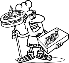 little caesars pizza coloring page wecoloringpage