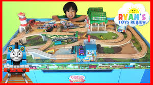 thomas the tank engine table top thomas and friends wooden railway knapford station and tidmouth s