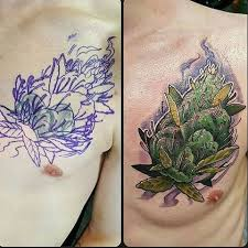 cannabis tattoo weed tattoo instagram photos and videos