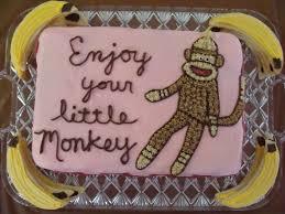 photo discount monkey baby shower image