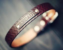 personalized leather collar custom leather collar