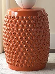 amazon com imax 44195 rania copper plated stool kitchen u0026 dining