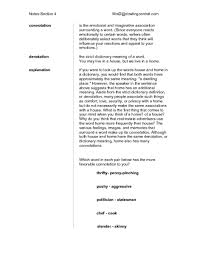 connotation worksheet free worksheets library download and print
