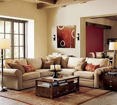 couches for small living rooms red and white cushion chair red