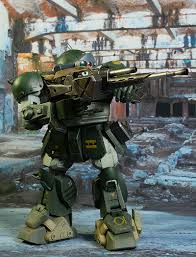 armored trooper votoms review and photos of threezero votoms armored scopedog trooper and