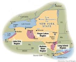 Finger Lakes New York Map by Uncork New York Californians Can Now Buy New York Wines Directly
