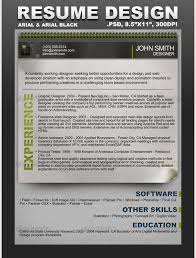 Creative Resume Template Download Free Great Example Of A Creative And Modern Resume Template Foe Free