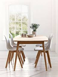 Unique Dining Room Furniture Cool Dining Room Furniture Wooden Brown Leg White Seat Dining