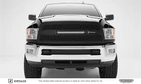 dodge ram white grill t rex dodge ram 2500 3500 zroadz series replacement