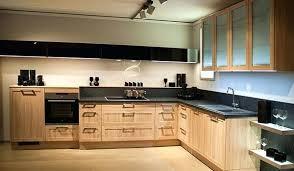placage meuble cuisine cuisine bois naturel porte meuble cuisine bois brut theedtechplace