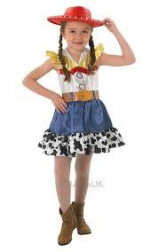 Cowgirl Halloween Costumes Kids Jessie Hat Toy Story Girls Fancy Dress Kids Cowgirl Disney