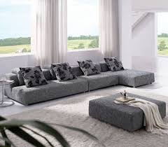 Gray Fabric Sectional Sofa Fabric Sectional Sofas With Chaise Chaise Design