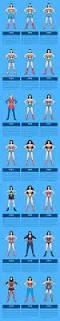 the evolution of wonder woman u0027s costume 1941 2016