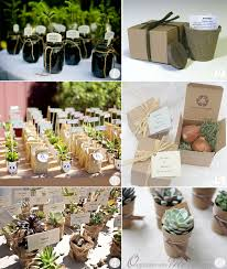 cadeau invites mariage cadeaux aux invités plantes succulentes plants graines arbustes