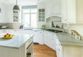 kitchen custom quartzite countertops with laminate wood flooring