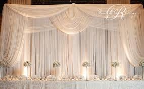 Chiffon Ceiling Draping Drape Luxe Event Linen
