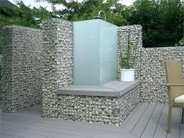 home design and outlet center mur en gabion leroy merlin douche exterieur en gabions home design