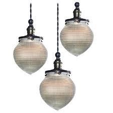 1920s acorn prismatic pendants by holophane modern chandelier