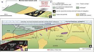 Occ Map A Jurassic Oceanic Core Complex In The High Pressure Monviso
