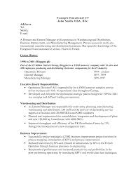 chrono functional resume sample functional resume template chrono