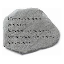 memory stones those we don t go away memorial hayneedle