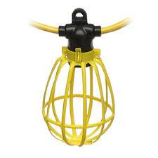 best construction work lights furniture woods watt incandescent string light with plastic bulb