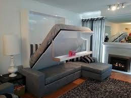 Hide Away Beds For Small Spaces Best 25 Murphy Bed With Couch Ideas On Pinterest Murphy Bed