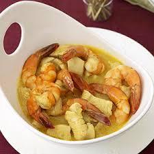 different thanksgiving menu chicken shrimp coconut curry