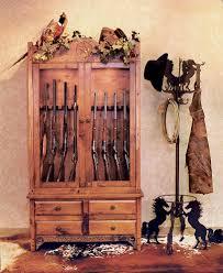 Wood Gun Cabinet Cabinet Charming Gun Cabinets Ideas Amish Gun Cabinets Cheap Gun