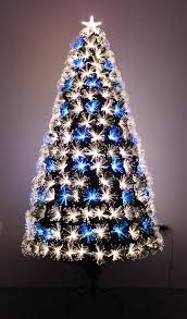 stylish decoration fibre optic christmas trees buy online uk world