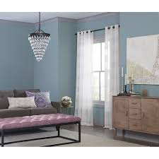 how high to hang curtains 9 foot ceiling shop curtains u0026 drapes at lowes com