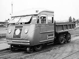 leopard 6 litre roadster 1936 evans autorailer dump truck
