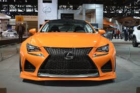 rcf lexus orange lexus rc f widebody beast ends up in chicago