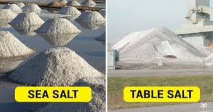 sea salt and table salt this is the difference between sea salt and table salt i m a