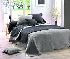 jeté de canapé gris perle dessus de lit gris loodo co