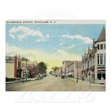 Styertowne Apartments by Bloomfield Ave Montclair Nj Vintage Post Cards New Jersey