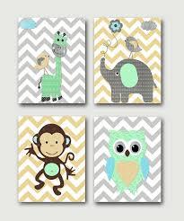 Giraffe Nursery Decor Baby Nursery Decor Printing Children Baby Artwork For Nursery