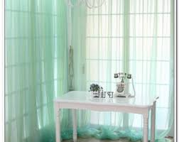 Green And Blue Curtains Blue Green Curtains Etsy