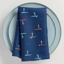 paddleboard napkin simons maisonsimons thehighseas decor