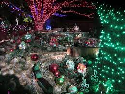 Zoo Lights by On The Go Zoo Lights Home Tour Houston Chronicle