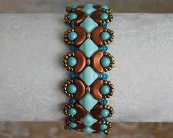beaded bracelet tutorial bead pattern calliope bracelet arcos