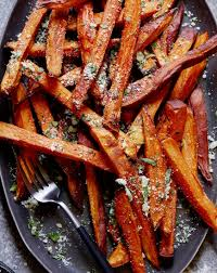 thanksgiving herbs garlic herb sweetpotato fries what u0027s gaby cooking