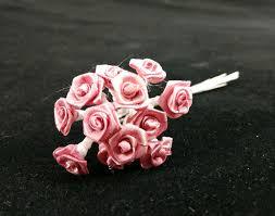 silk ribbon roses bridal flowers medium ribbon roses