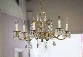 From A Chandelier From The Light Of A Chandelier