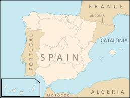 madrid spain map what an independent catalonia would do to the map of spain big think