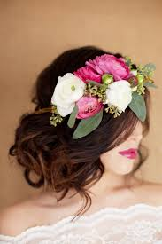 flower for hair hair and make up by steph fresh flower tips
