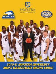 Hofstra Campus Map 2010 11 Hofstra Men U0027s Basketball Media Guide By Hofstra University