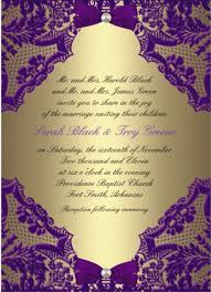 exle of wedding programs purple and gold wedding invitation designs wedding invitation ideas