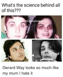 Gerard Way Memes - what s the science behind all of this ign poisonway gerard way